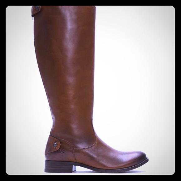Frye Melissa Lug Boots Wide Calf